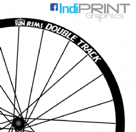 Sun Rims Double Track stickers/decals